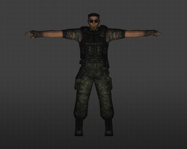 «Террористы Лесной камуфляж» для CS 1.6