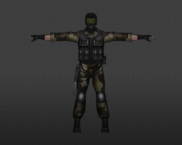 «Американские солдаты» для CS 1.6