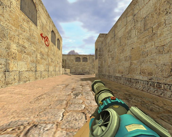 «Пулемет из будущего» для CS 1.6