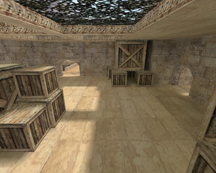 «fy_dust2» для CS 1.6