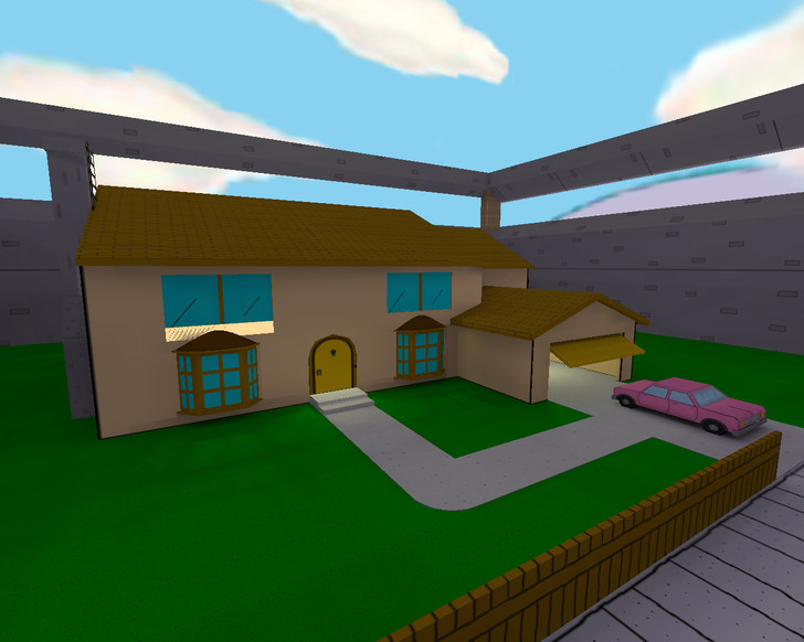 «fy_simpsons_house» для CS 1.6