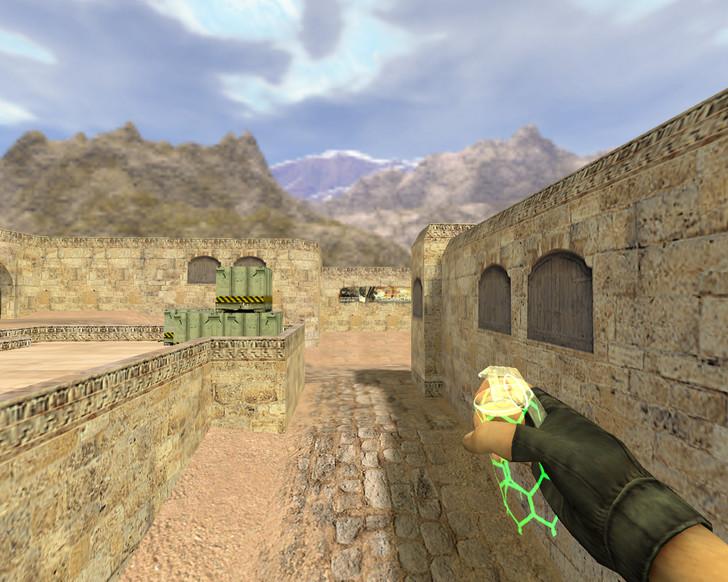 «Прозрачные гранаты Призрак» для CS 1.6