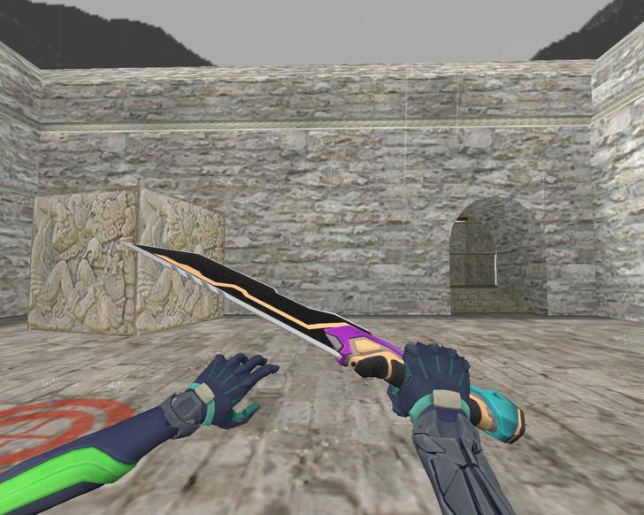 «Glitchpop Knife» для CS 1.6