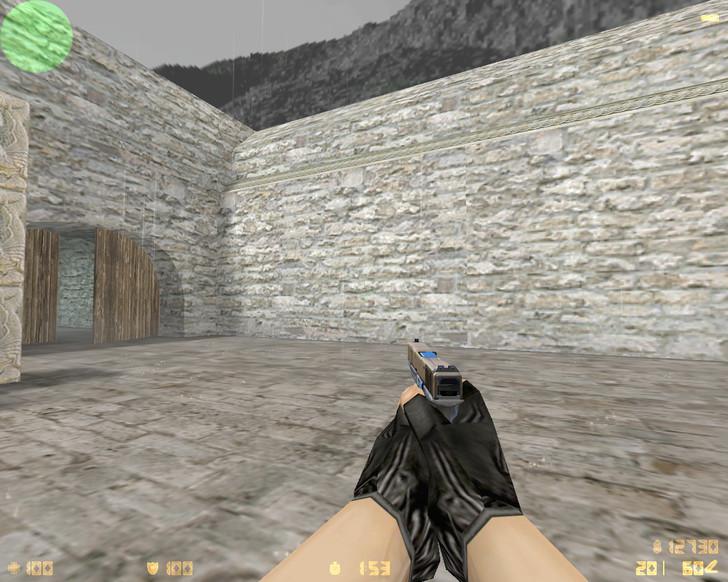 «Glock-18 | Прозрачный полимер (Clear Polymer)» для CS 1.6