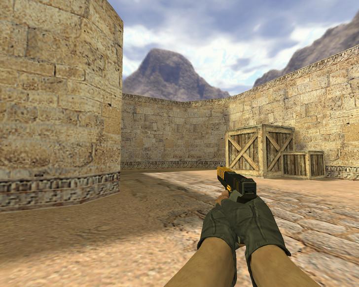 «Glock Внимание» для CS 1.6