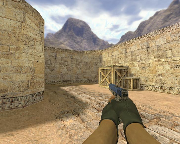 «Glock Синяя трещина» для CS 1.6