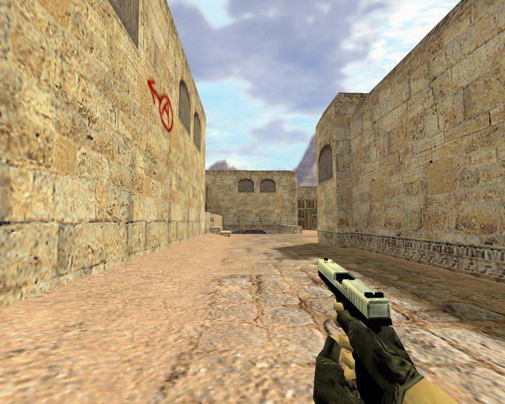 «Glock Хром» для CS 1.6