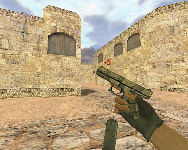 «Glock Гремучая смерть» для CS 1.6
