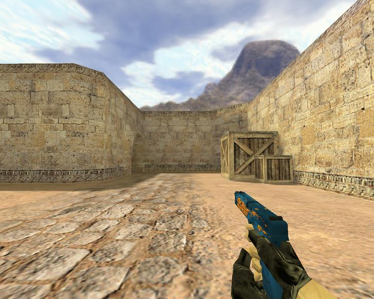 «Glock Огненный» для CS 1.6