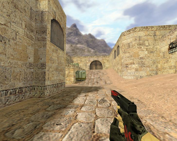 «Glock Пламя» для CS 1.6