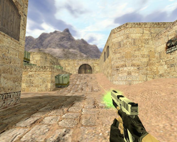 «Glock Зеленый убийца» для CS 1.6