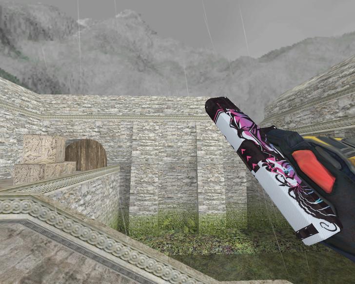 «Glock «Неонуар» (Neo-Noir)» для CS 1.6