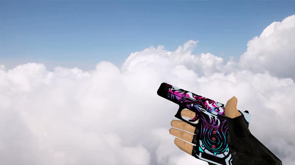 «Glock «Неонуар»» для CS 1.6