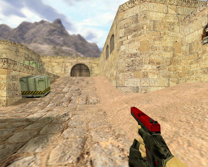 «Glock Красный и опасный» для CS 1.6