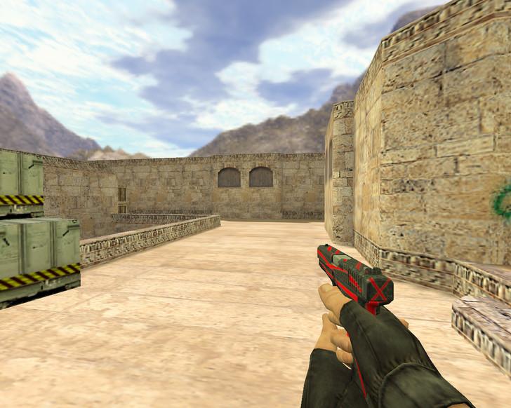 «Glock Красная линия» для CS 1.6