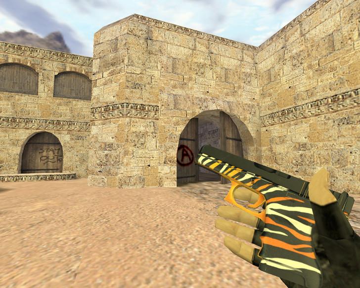 «Glock Шкура тигра» для CS 1.6