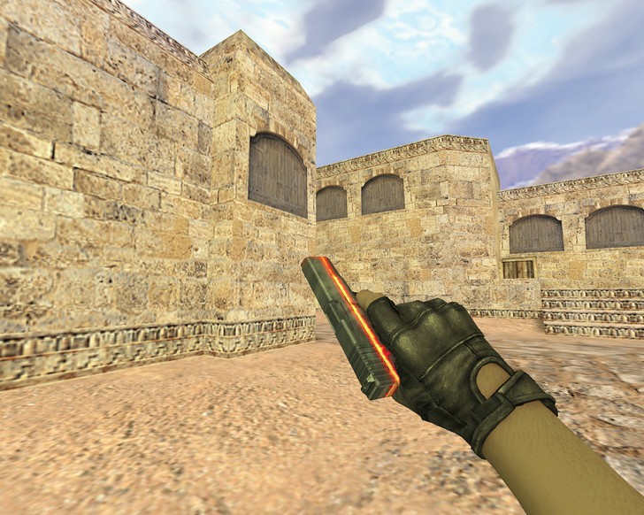 «Glock Подземелье» для CS 1.6