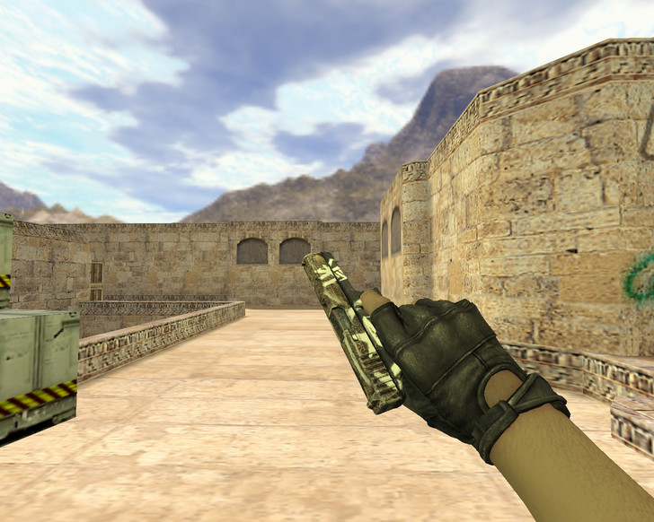 «Glock Пустынный повстанец» для CS 1.6