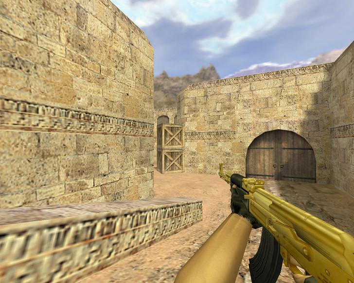 «АК-47 Золотой» для CS 1.6
