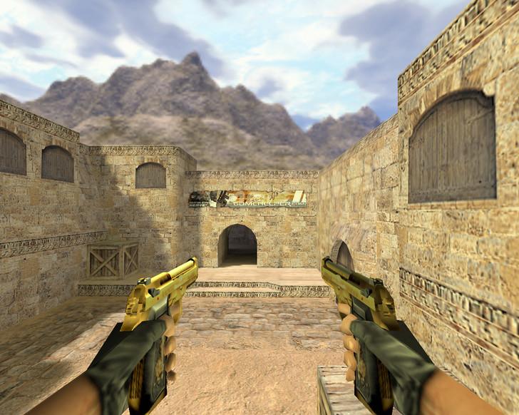 «Dual Elites Золотой» для CS 1.6
