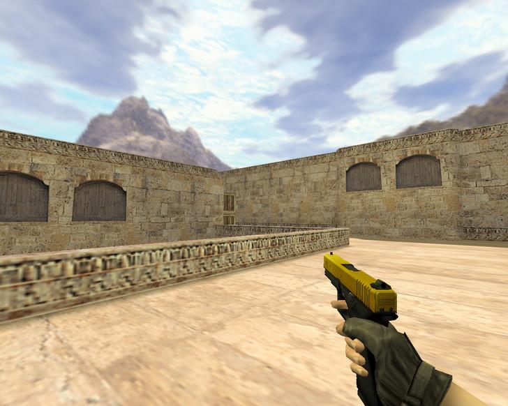 «Glock Золотой» для CS 1.6