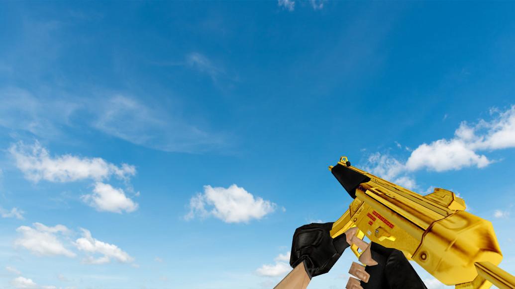 «Golden MP5» для CS 1.6