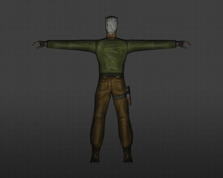 «Седой террорист» для CS 1.6