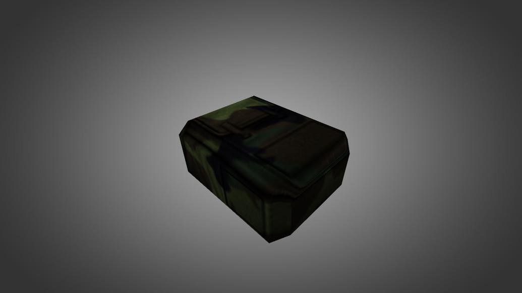 «Green Camo Backpack» для CS 1.6