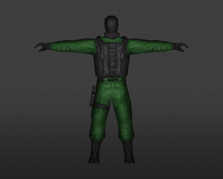 «Зеленый GIGN» для CS 1.6