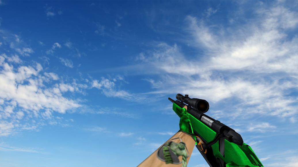 «Зеленый Scout» для CS 1.6