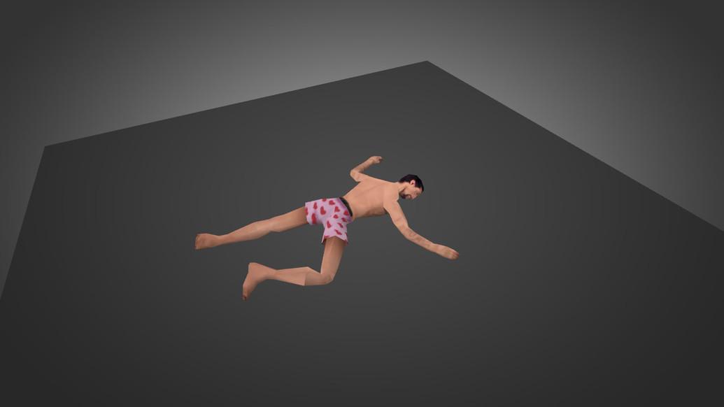 «GTA SA Sleeping Stripped Valet Crew» для CS 1.6