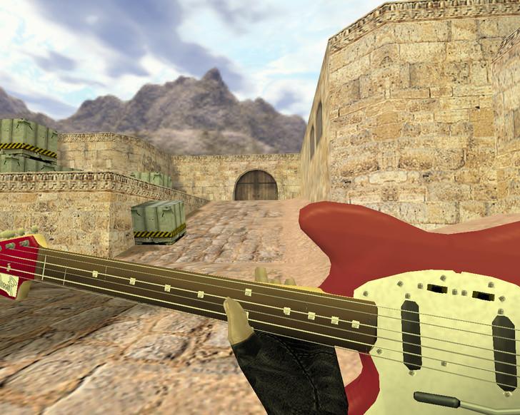 «Дробовик Гитара» для CS 1.6
