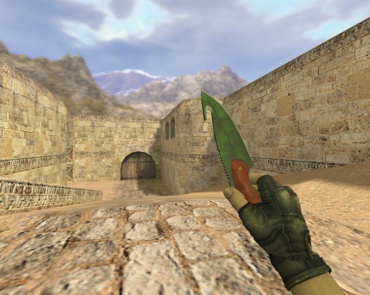 «Нож с лезвием-крюком Гамма-волны» для CS 1.6