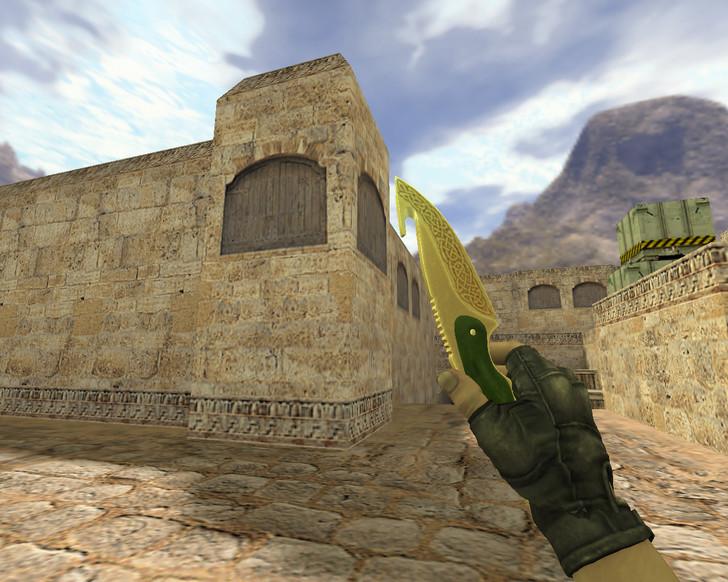 «Нож с лезвием-крюком Легенды» для CS 1.6