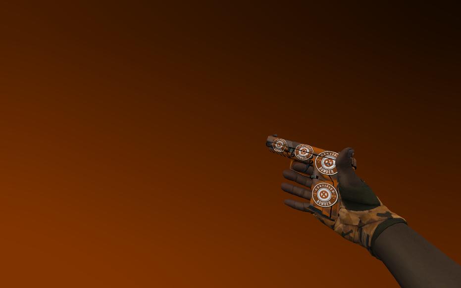 «Пак с перчатками «Обмотки рук   Пустошь»» для CS 1.6