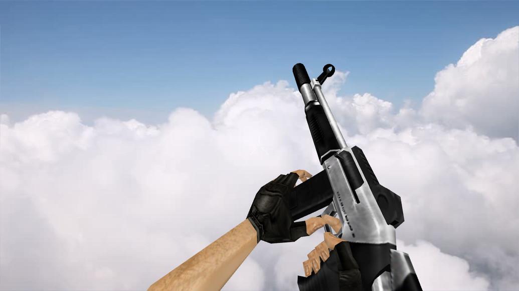 «Handheld Laser Cannon» для CS 1.6