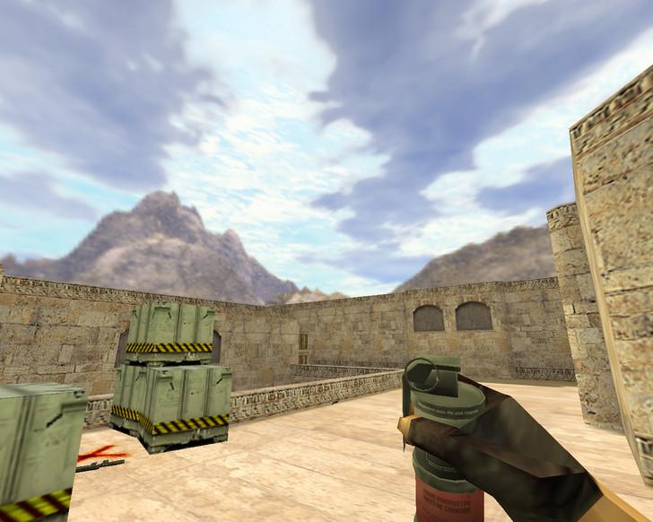 «Пак гранат HD» для CS 1.6