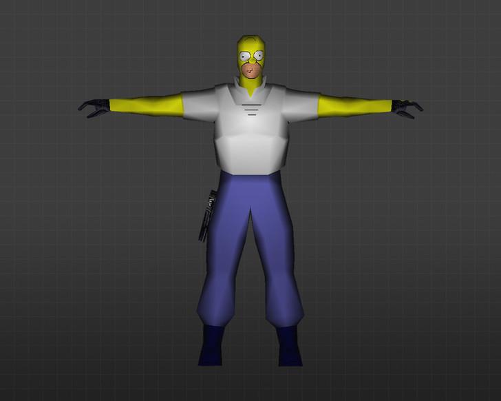 «Гомер Симпсон» для CS 1.6