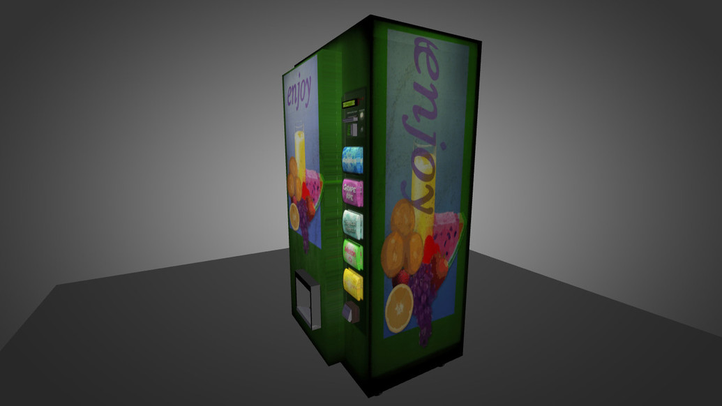 «HQ Vending machine» для CS 1.6