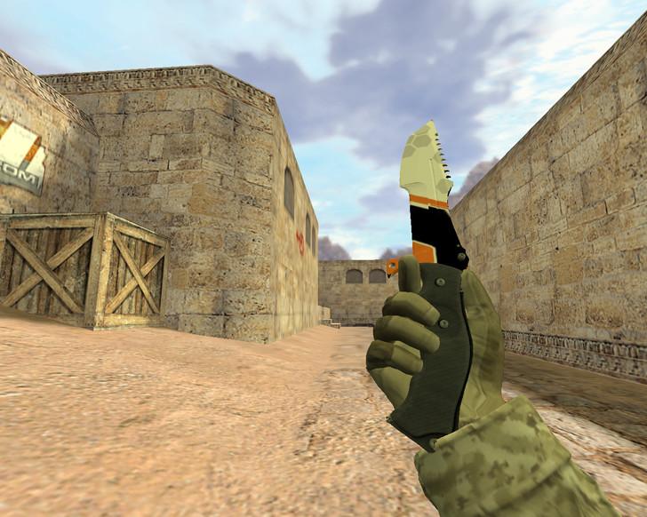 «Охотничий нож Азимов» для CS 1.6