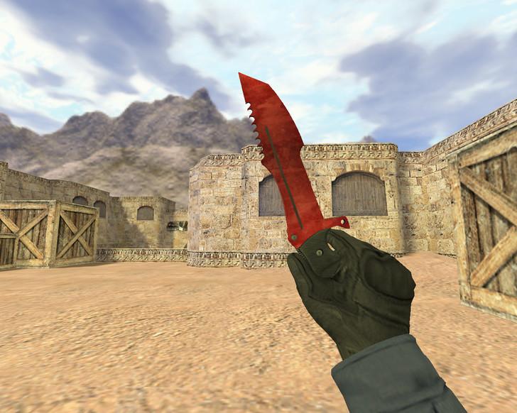 «Охотничий нож Сыщик» для CS 1.6