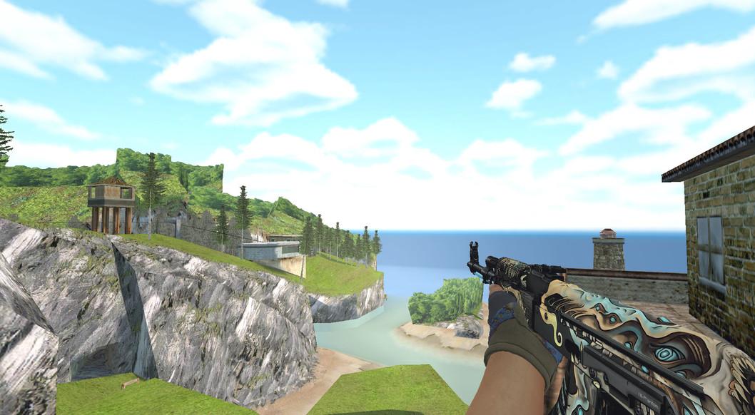 «Hydra Gloves | Case Hardened Pack» для CS 1.6