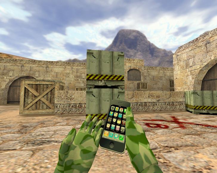 «Бомба iPhone» для CS 1.6