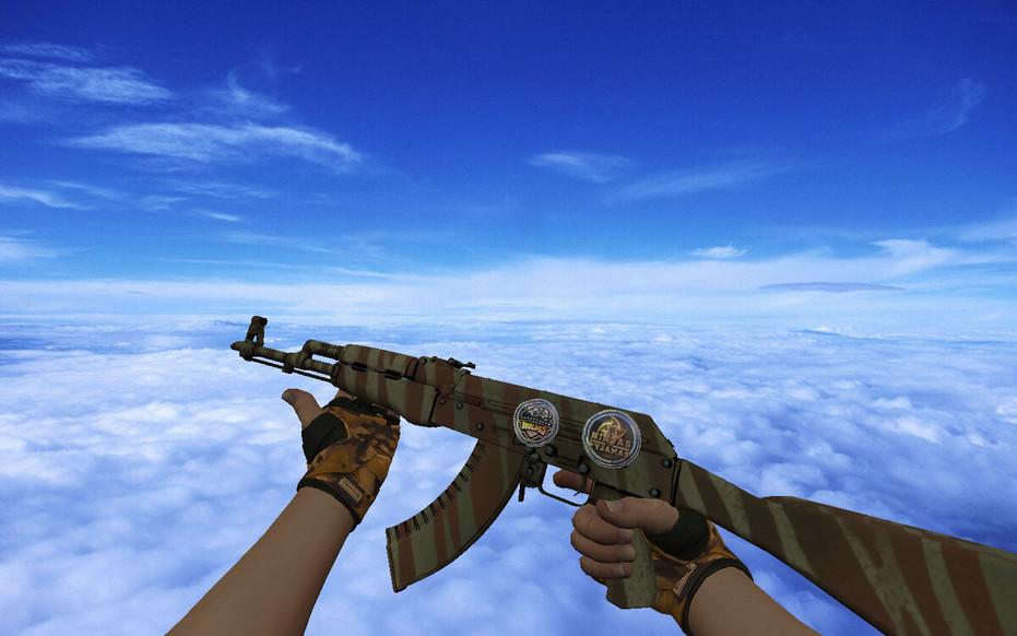 «Jah's AK-47 Predator» для CS 1.6
