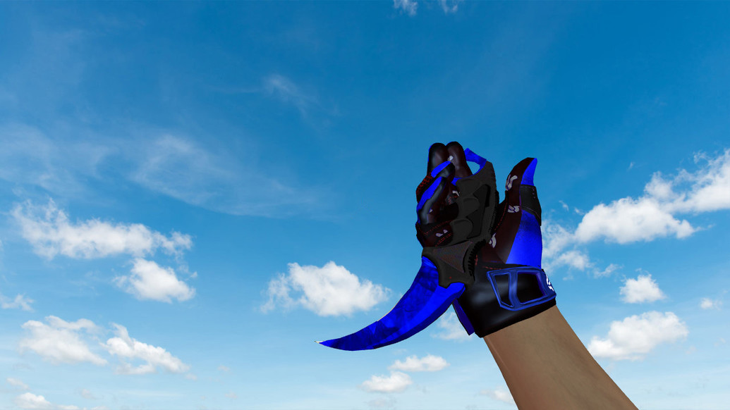 «Керамбит «Doppler Sapphire»» для CS 1.6