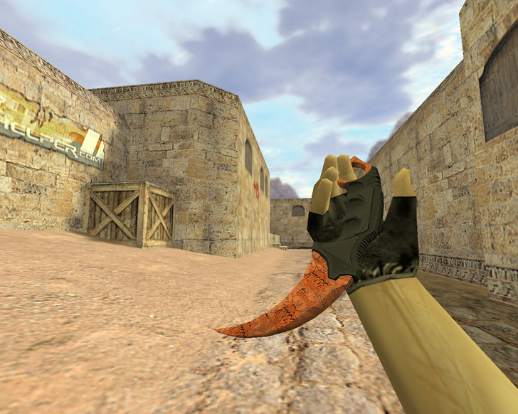 «Нож Керамбит Бах» для CS 1.6