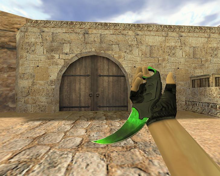 «Нож Керамбит Гамма-волны» для CS 1.6