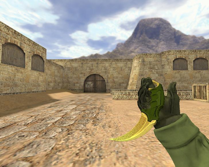 «Нож Керамбит Легенды» для CS 1.6