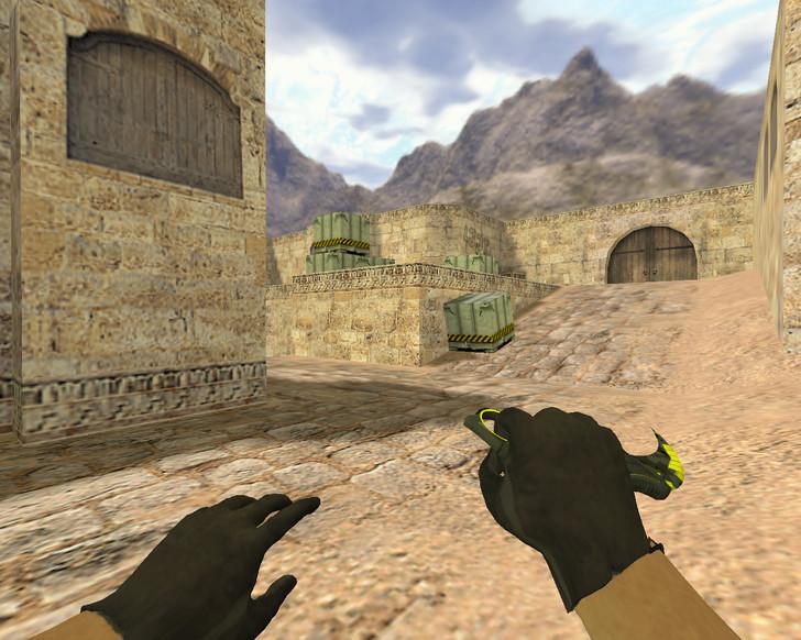 «Нож Керамбит Нервный» для CS 1.6