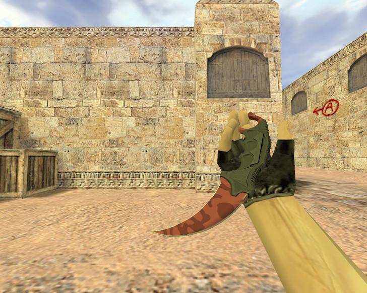 «Нож Керамбит Убийство» для CS 1.6